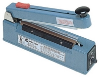 "Impulse Sealer - 8"" Hand Impulse Sealer with Cutter, 5mm Seal"