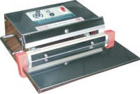 "Impulse Sealer - 10"" Stainless Table Hand Impulse Sealer, 2mm Seal"
