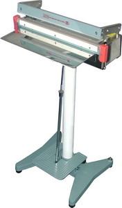 "Foot Sealer - 18"" Stainless Foot Sealer, 2mm Seal"